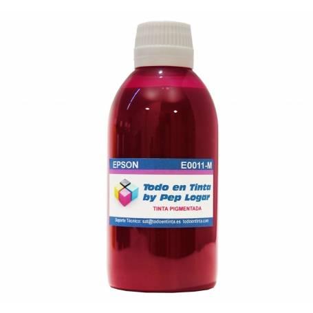 250 ml. tinta magenta pigmentada para cartuchos Epson