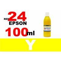 Epson 24 XL botella 100 ml. tinta amarilla