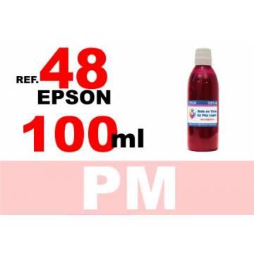 48 botella 100 ml. tinta magenta photo