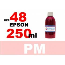 Epson 48 botella 250 ml. tinta magenta photo