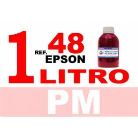 Epson 48 botella 1 L tinta magenta photo