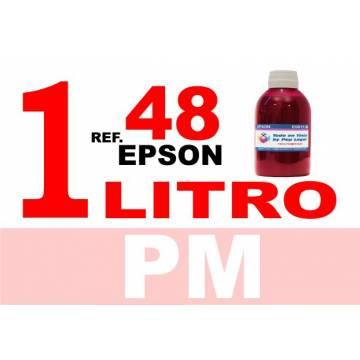 48 botella 1 L tinta magenta photo