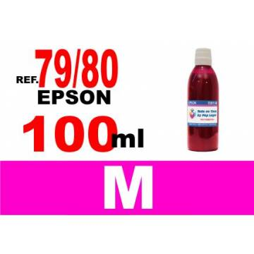 79 y 80 botella 100 ml. tinta magenta