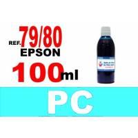 Epson 79 botella 100 ml. tinta cian photo