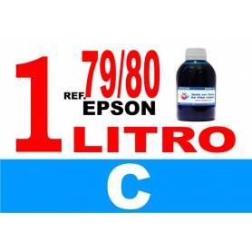 Epson 79 botella 1 L tinta cian