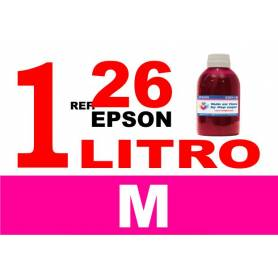 Epson 26 XL botella 1 L tinta magenta