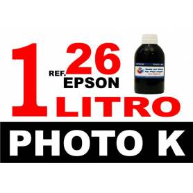 Epson 26 XL botella 1 L tinta negra photo