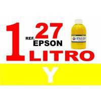 Epson 27, botella 1 L tinta amarilla
