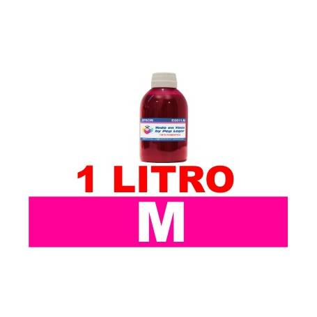 1 L. tinta magenta colorante para Canon