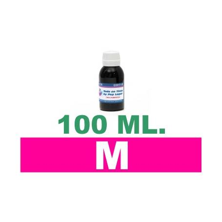 100 ml. tinta magenta colorante para cartuchos HP