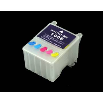 T009 cartucho compatible Transparente recargable vacio