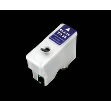 T036 cartucho compatible transparente recargable vacío c42 c44 c46