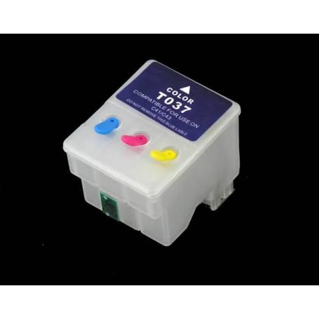T037 cartucho Transparente recargable vacio para Epson C42 C44 C46
