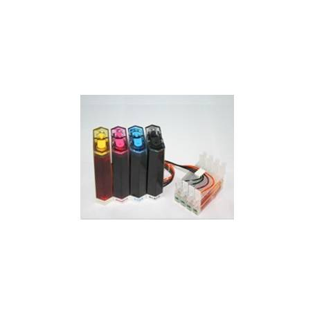 CISS para impresoras Epson cartuchos T0551, T0552, T0553, T0554