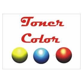 .recargas de toner color CMY impresoras Olivetti Dcolor P12 P160W 3 botellas de 195 gr.
