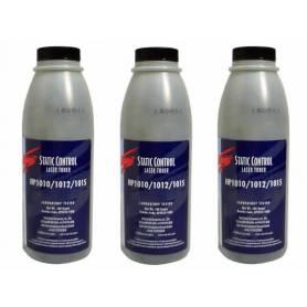 Hp cartucho Q7553, recargas de toner, 3 botellas + chips