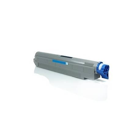 toner reciclado Oki C9600 9800 cartucho color cian