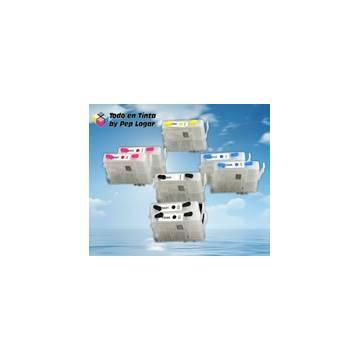 T0591 t0582 t0593 t0594 t0595 t0596 t0597 t0598 cartuchos compatibles recargables