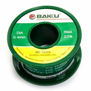 Estaño para circuitos electrónicos 0 4 mm Bakú 10004 50g