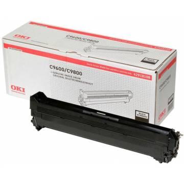 Tambor original Oki C9600 C9650 C9655 C9800 C9850 negro