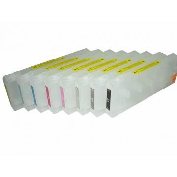 T563X 8 cartuchos recargables pro 7800 pro 9800
