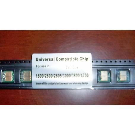 chip Xerox 6120 set de 4 chips BK,C,M,Y