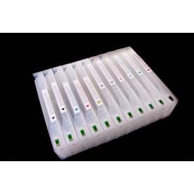 Epson 7890 9 cartuchos recargables de 700 ml.