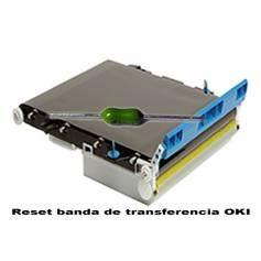 Reset banda transferencia Oki ES8460