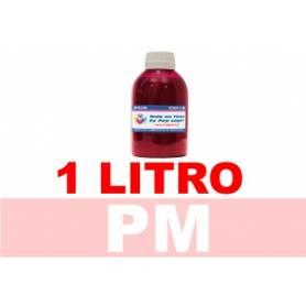 1 L. tinta magenta claro colorante para cartuchos HP