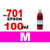 Epson 701, 701 XL botella 100 ml. tinta magenta