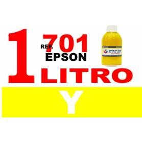 Epson 701, 701 XL botella 1 L tinta amarilla