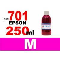 Epson 701, 701 XL botella 250 ml. tinta magenta