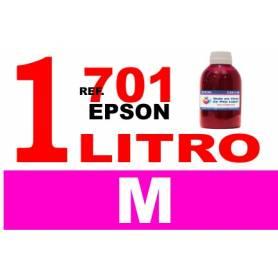 Epson 701, 701 XL botella 1 L tinta magenta
