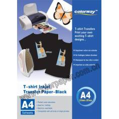 Dark t shirt transfer paper 120g A4 5 hojas