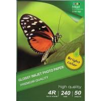 10X15CM R4 High Glossy Inkjet Photo Paper 240g-50 Fogli