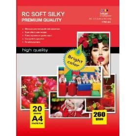 10X15CM R4 RC Satin Inkjet Photo Paper 260g-50 Fogli