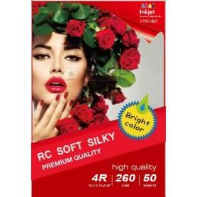 297x210MM R4 RC Satin Inkjet Photo Paper 260g-20 Fogli