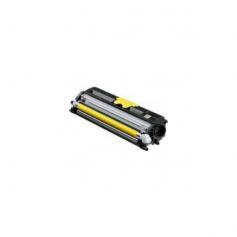 Para Oki c110 c130 color amarillo cartucho tóner reciclado