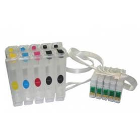 CISS Epson D120 cartuchos T0711, T0711, T0712, T0713, T0714