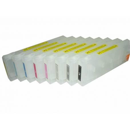T603X 8 cartuchos recargables Epson pro 7800 pro 7880 pro 9800 pro 9880