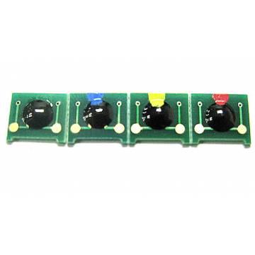 Para Hp cp1215 cp1210 cp1515 cp1510 set de 4 chips c m y bk alta capacidad