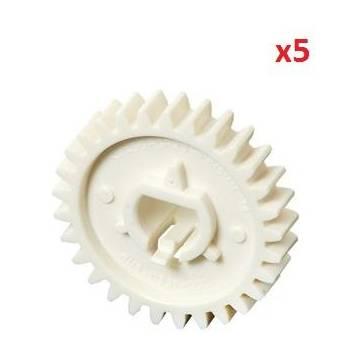 5xlower roller gear 29t 2420.2430 1160 1320ru5 0331 000