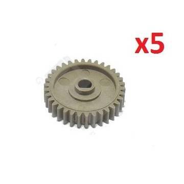5xlower roller gear 34t Hp 4000 4100 4050rs5 0922 000