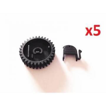 5xlower roller gear 32t m630 m604 m606 m601 603ru7 0296 000