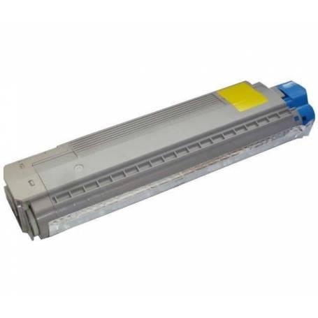 Cartucho toner reciclado Oki C8600 C8800 amarillo