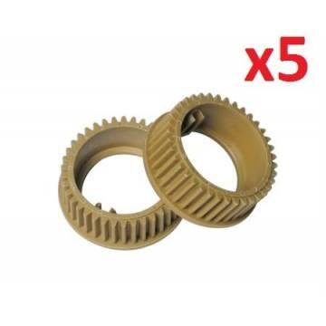 5xUpper Roller Gear 38T KM1620,2050,TA1812KK25170-2C920170