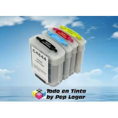 Para Hp 88 pack de 4 cartuchos recargables autoreseteable ( para Hp c9388)