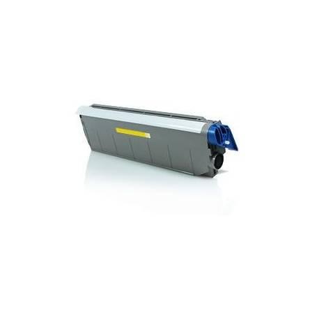 para Oki C9100, 9200 C9300 C9400 C9500 color amarillo cartucho toner reciclado