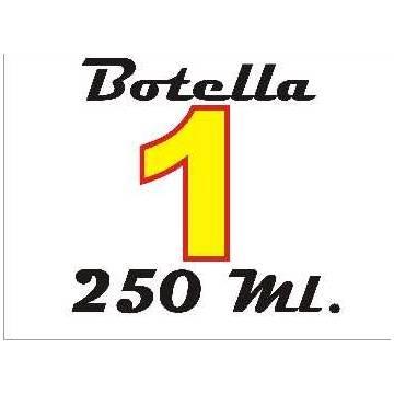 250 ml. de tinta de sublimación amarilla para plotters 42 pulgadas