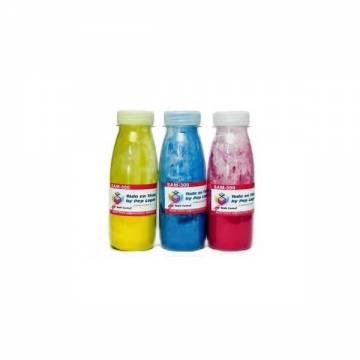 recargas de toner para cartucho para Samsung color CLP 300 CLP 315 tres botellas de toner (CMY) sin chips